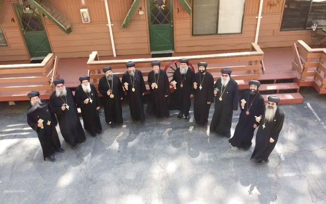 Bi-Annual Meeting of the Coptic Orthodox Bishops of North America
